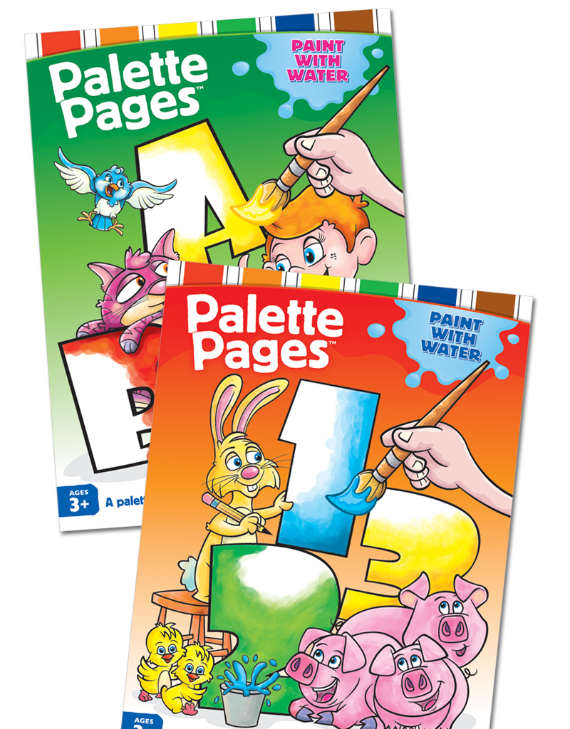 Palette Pages™ Painting Books