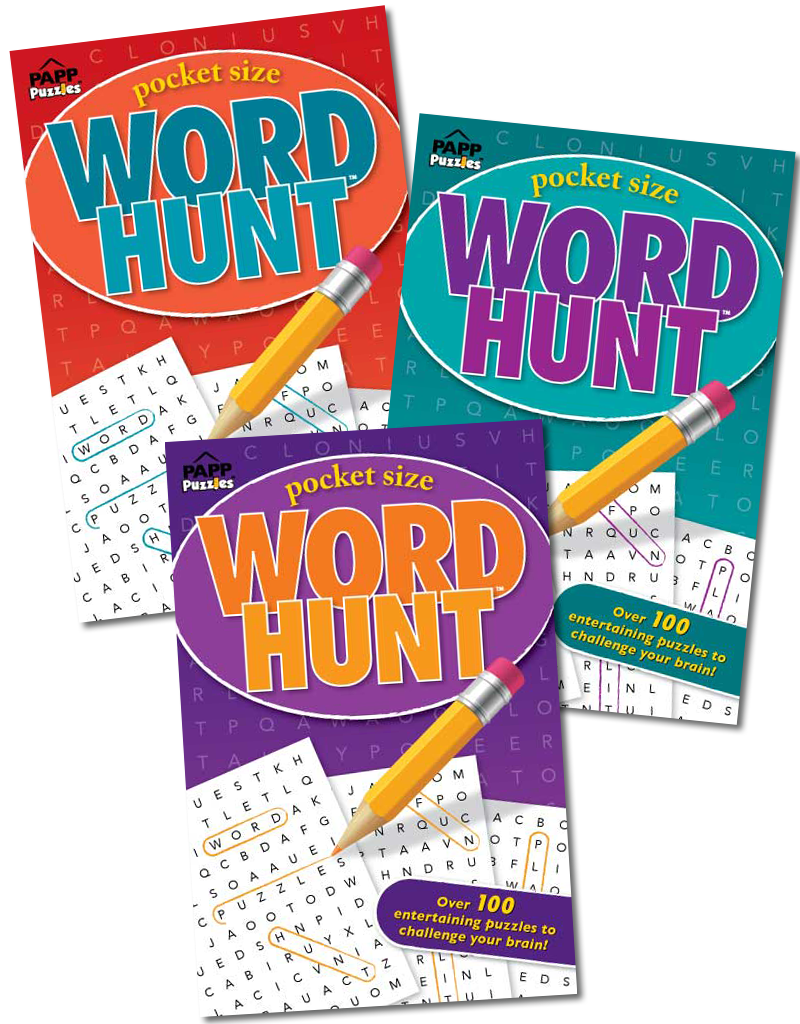 Pocket Size Word Hunt Books