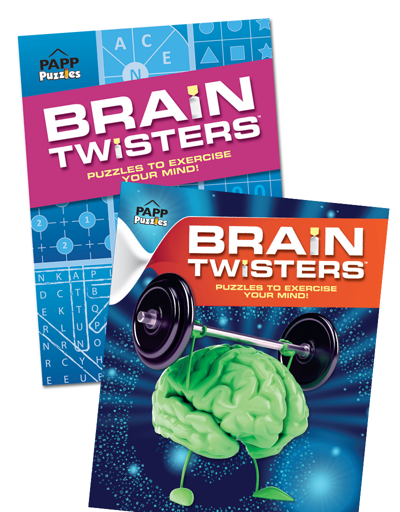 Brain Twisters Puzzle Books