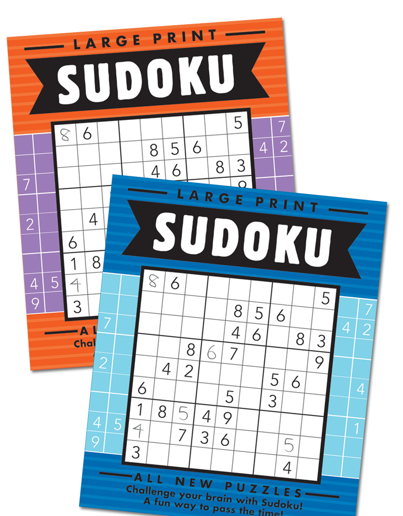 Large Print Sudoku Books