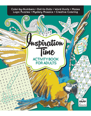 Activity Book for Adults: Inspiration Time