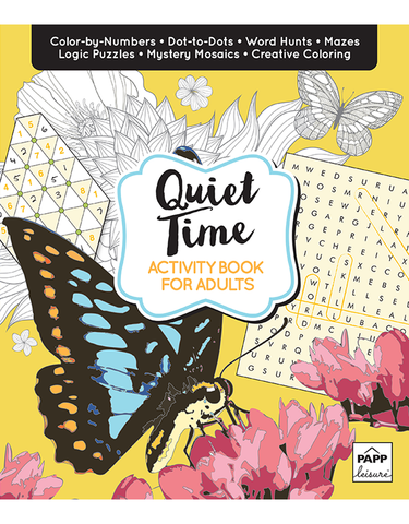 Activity Book for Adults: Quiet Time
