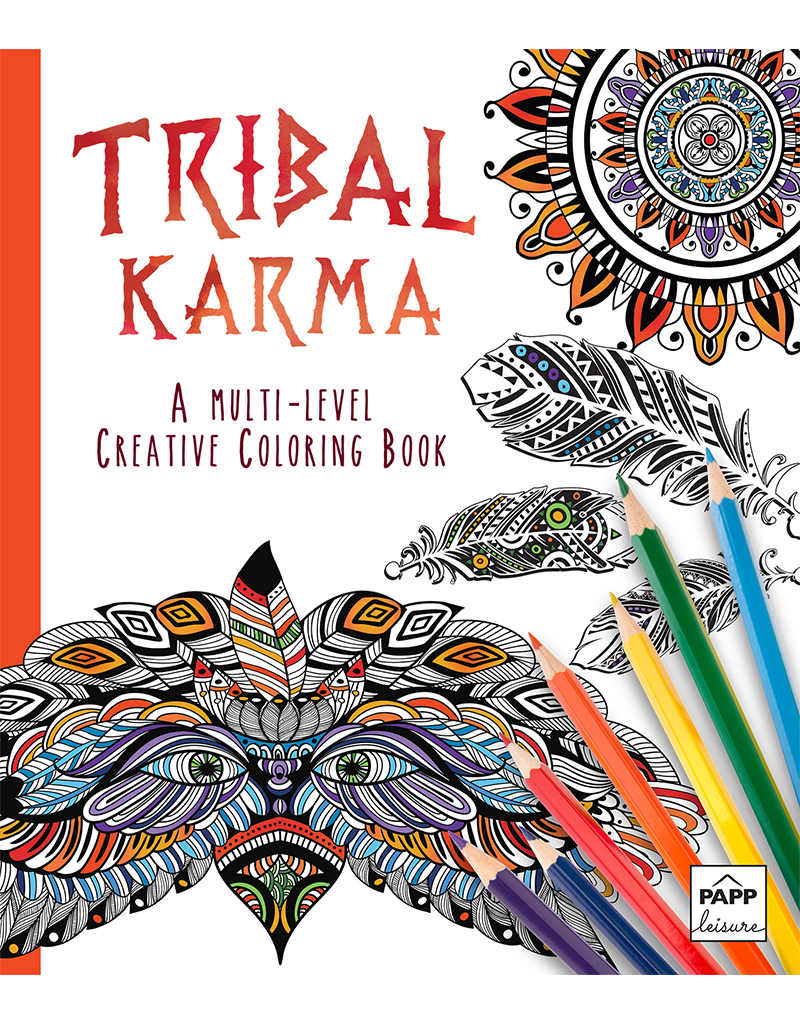 color karma an adult coloring book