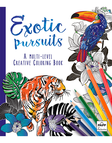 Creative Coloring: Exotic Pursuits