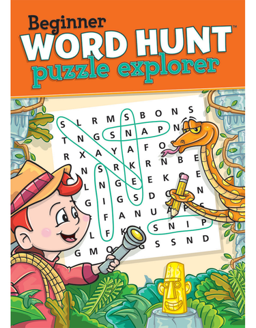 Beginner Word Hunt™: Puzzle Explorer