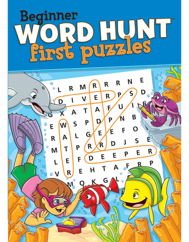 Beginner Word Hunt™: First Puzzles
