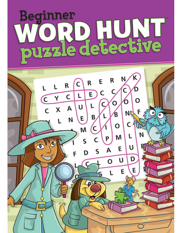 Beginner Word Hunt™: Puzzle Detective