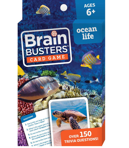 Brain Busters™ Card Game : Ocean Life