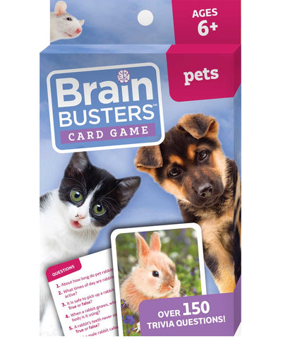 Brain Busters™ Card Game : Pets