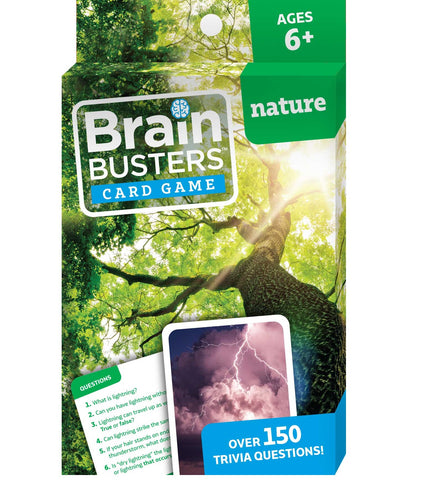 Brain Busters™ Card Game : Nature