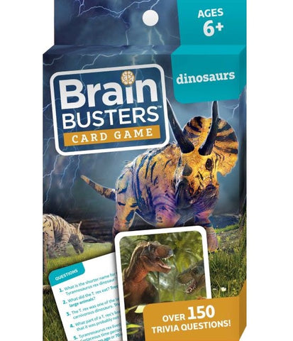 Brain Busters™ Card Game : Dinosaurs