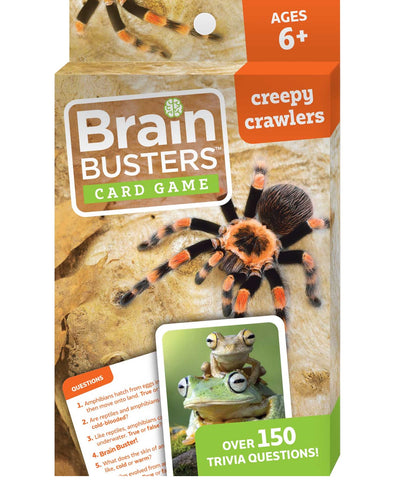 Brain Busters™ Card Game Creepy Crawlers