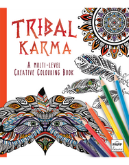 Creative Coloring: Tribal Karma