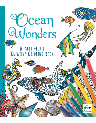 Creative Coloring: Ocean Wonders
