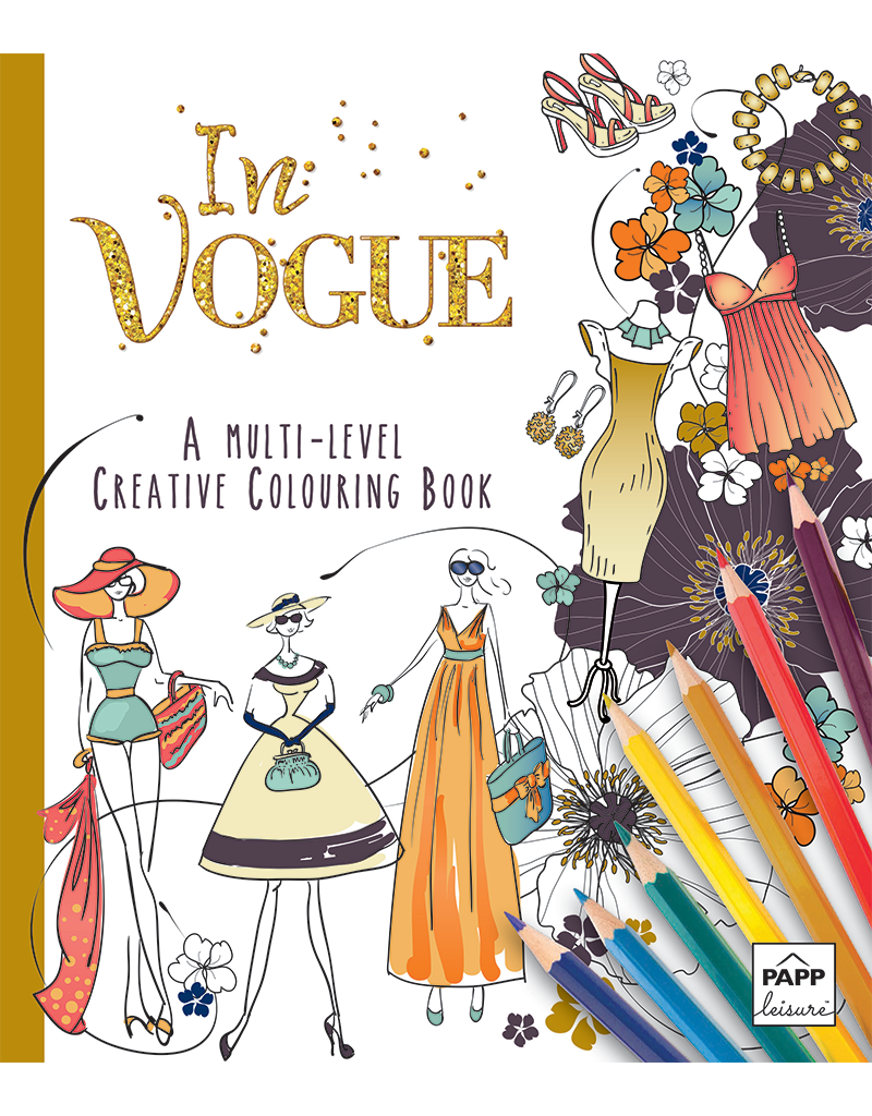 Creative Coloring: In Vogue