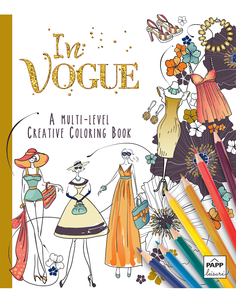 Creative Coloring In Vogue