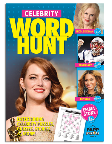 Celebrity Word Hunt™ Variety Puzzles: Vol. 1