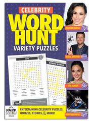 Celebrity Word Hunt™ Variety Puzzles: Vol. 2