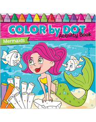 Color by Dot Activity Book: Mermaids