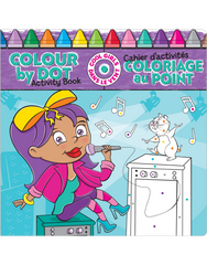 Color by Dot Activity Book: Cool Girls