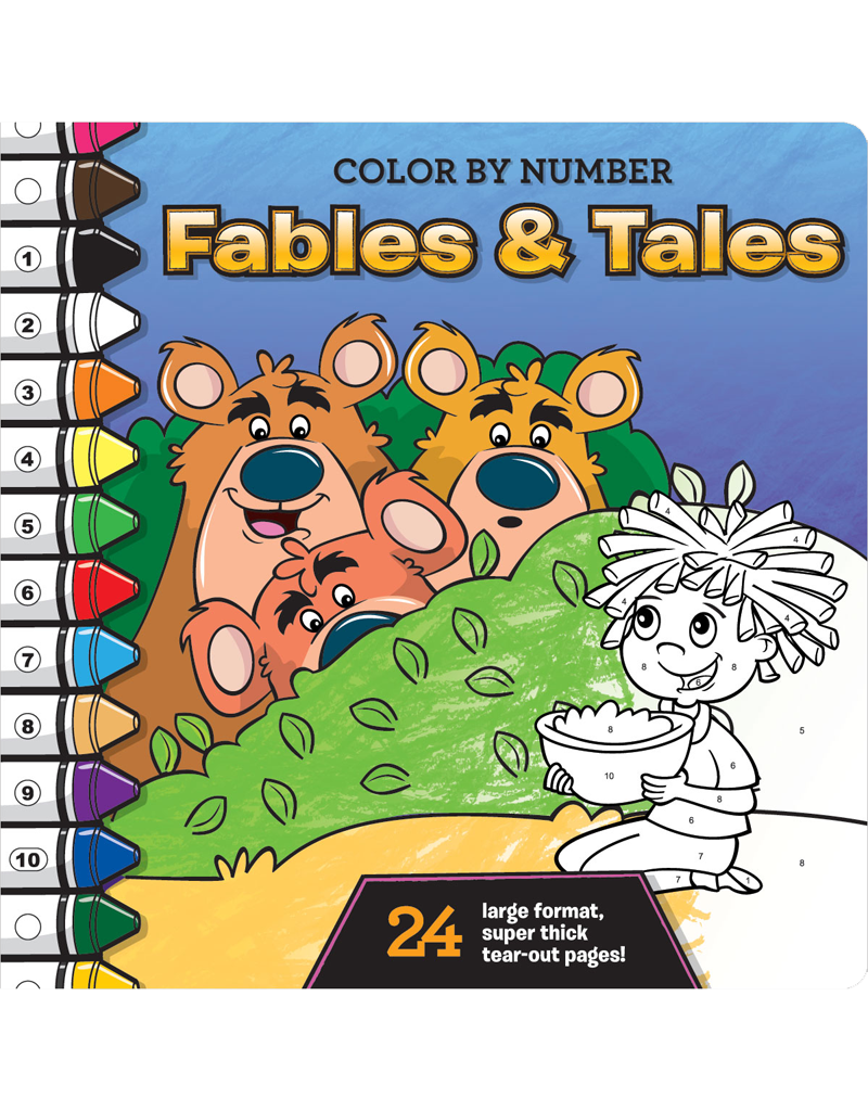 Color-by-Number: Fables and Tales | Beaver Books Publishing