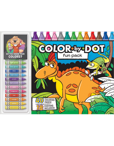 Color-by-Dot Floor Pad: Fun Pack