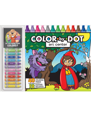 Color-by-Dot Floor Pad: Art Center