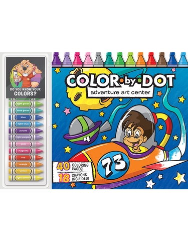 Color-by-Dot Floor Pad: Adventure Art Center