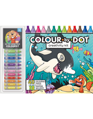 Color by Dot Floor Pad: Creativity Kit