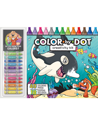 Color-by-Dot Floor Pad: Creativity Kit