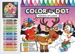 Color by Dot Floor Pad: Holiday Art Pack