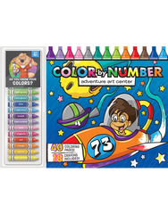 Color by Number Floor Pad: Adventure Art Center