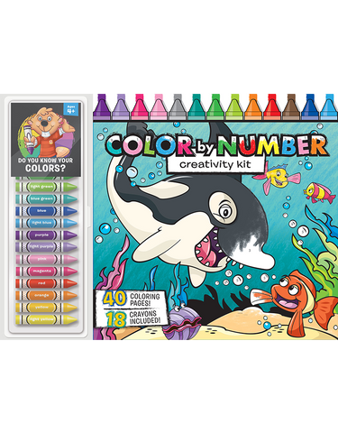 Color by Number Floor Pad: Creativity Kit