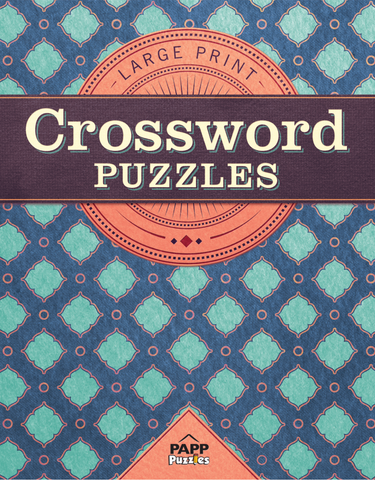 Large Print Crossword Puzzles: Persian Tile