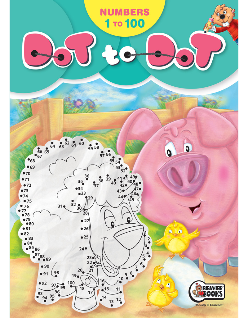 dot to dot numbers 1 to 100 beaver books publishing