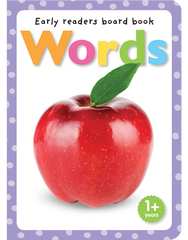 Early Readers Board Books: Words