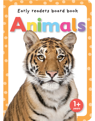 Early Readers Board Books: Animals