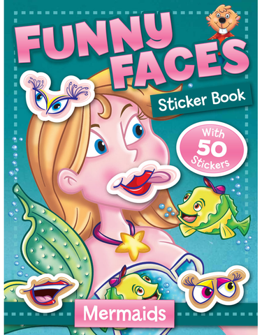 Funny Faces: Mermaids