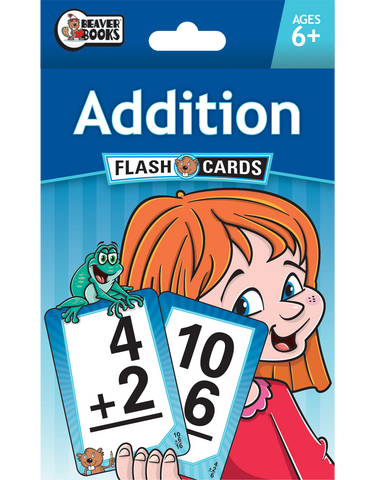 Beaver Ed's Flash Cards: Addition