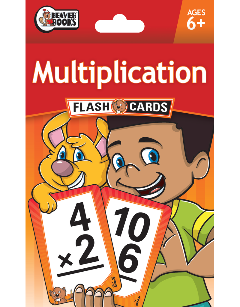Beaver Ed's Flash Cards: Multiplication