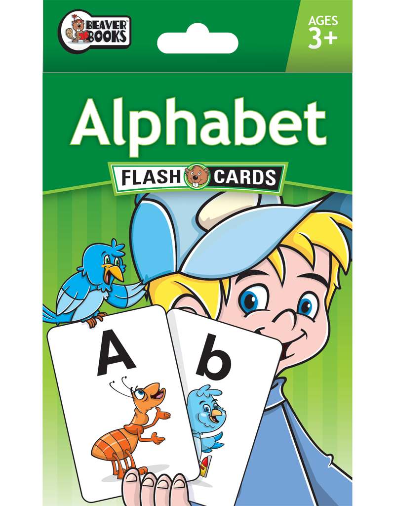 Beaver Ed's Flash Cards: Alphabet