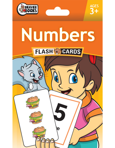 Beaver Ed's Flash Cards: Numbers