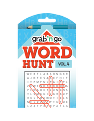 Grab 'n Go Word Hunt™ #4: Scarlet-Celeste
