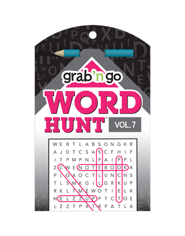 Grab 'n Go Word Hunt™ #7: Dahlia-Onyx