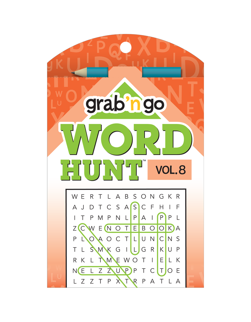Grab 'n Go Word Hunt™ #8: Celery Paprika