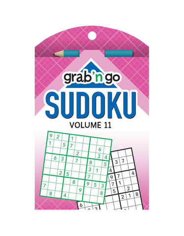 Grab 'n Go Sudoku #11: Blue-Bubblegum