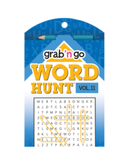 Grab 'n Go Word Hunt™ #11: Canary-Colbalt
