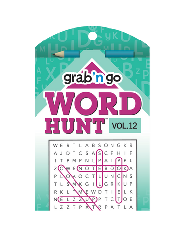Grab 'n Go Word Hunt™ #12: Wine-Aqua