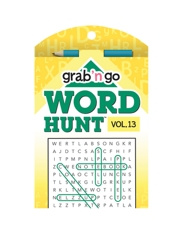 Grab 'n Go Word Hunt™ #13: Jungle-Banana