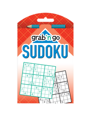 Grab 'n Go Sudoku #17: Cornflower-Poppy